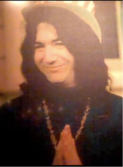 Photo of Jerry Garcia in Fillmore Wes
